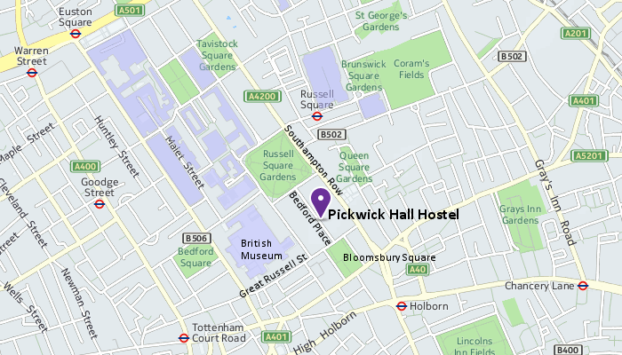PickwickHall Map